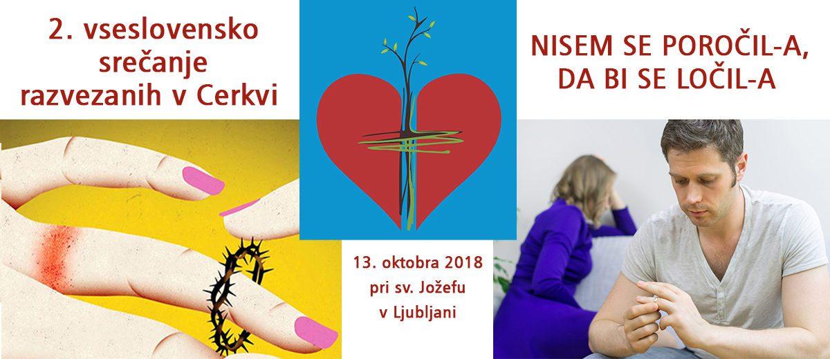 13.10. ob 9.30 uri – 2. vseslovensko srečanje razvezanih v Cerkvi